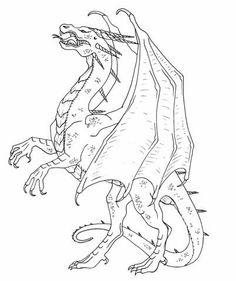 Treasure Dragon coloring page by TabLynn on deviantART ...