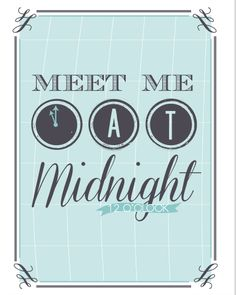 Free New Years Eve Printables - perfect for home or party decor!