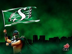 Saskatchewan Roughriders best team in history! Bring Em Out, Go Rider, Saskatchewan Roughriders, Canadian Football League, Saskatchewan Canada, Rough Riders, A Team, Green Colors, Pride