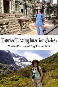 Interview with travel blogger Marie-France of Big Travel Nut. Marie-France talks about her background and inspirations as well as favorite ways to travel.