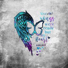 Fake Tattoos, Body Art Tattoos, New Tattoos, Tatoos, Angel Wing Tattoos, Trendy Tattoos, Irish Tattoos, Sister Tattoos, In Loving Memory Tattoos