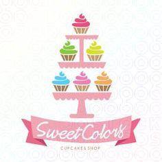 #Cupcakes #Colors #Logo