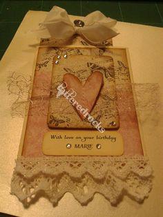 Birthday card romance.