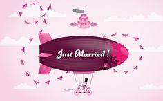 #illustration #erre #erreurrutia Www.erurrutia.com Just Married, My Works, Website, Digital, Illustration, Design, Newlyweds, Illustrations, Character Illustration