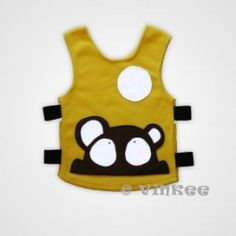 Vinkee reflecterende vest Bear Cool Outfits, Dress Up, Vest, Baby, Character, Search, Costume, Searching, Baby Humor