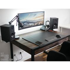 What an awesome setup! I love the look of wooden desk. What's your favorite desktop texture? By Redditor zbeegniev. - - Check out the link in my bio! - Tag a friend who might like this page! - DM or Kik me your setup to be featured! #setup #dreamsetup #workstation #battlestation #workspace #pcgaming #deskspace #desksetup #gaming #game #gamer #gamingsetup #pc #pcmasterrace #computer #technology #clean #pcgaming101 #apple #interiordesign #dreamroom #style #goodvibes #instagood #design…