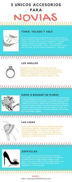 5 Unicos Accesorios para Novias en su dia, #tiaras, #anillosdebodas