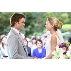 Jane & I LOVED this hair-do.  House M.D.- Cameron & Chase Wedding - Image 5 - Season 5 - House M.D. photos found on Polyvore