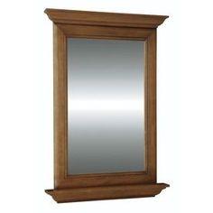 Diamond Fresh Fit Ballantyne 25-in W x 34-in H Rectangular Bathroom Mirror