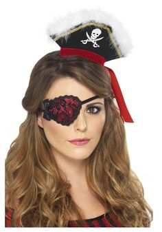 female pirate eye patch - Google Search