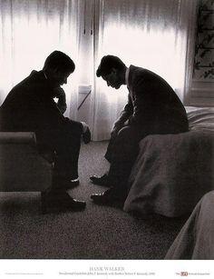 John F. Kennedy and Robert F. Kennedy