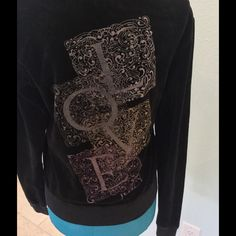 Juicy Couture love sweatshirt Only wear is on the letters / No trades, no PayPal Juicy Couture Tops Sweatshirts & Hoodies