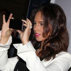 She is so beautiful.  Alicia Keys