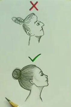 Right and wrong way to draw a face - Random - Caricature - Caricature - 3d Art Drawing, Art Drawings Sketches Simple, Cute Easy Drawings, Easy Cartoon Drawings, Art Drawings For Kids, Pencil Art Drawings, Sketch Art, Drawing Hair, Drawing Ideas