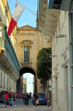 Streets of Malta Malta Italy, Places Around The World, Around The Worlds, Malta Gozo, Malta Island, Travel Brochure, Beautiful Islands, Great View, Vacation Trips