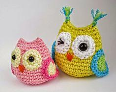 Mesmerizing Crochet an Amigurumi Rabbit Ideas. Lovely Crochet an Amigurumi Rabbit Ideas. Owl Crochet Pattern Free, Crochet Owls, Crochet Diy, Crochet Patterns Amigurumi, Crochet Crafts, Yarn Crafts, Crochet Projects, Knitting Patterns, Free Pattern