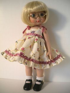 Ann Estelle wearing Tea Time by Samihart Doll Fashions.  Ebay