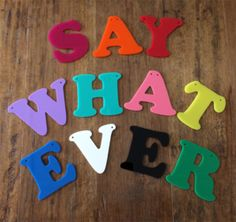 MADE TO ORDER:Laser cut individual letters.Measuring Approx 8cm in height - using fun bolded capital letters.Perfect for Wedding, Parties, Market Stalls, Babies and Kids rooms. http://littleshopof.bigcartel.com/product/acrylic-individual-letters-made-to-order  #littleshop