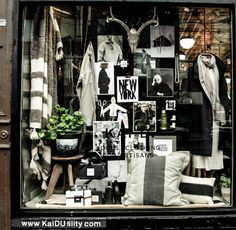 Kai D Utility Window Display | thinctank Concept Board, Visual Display, Fall 2016, Kai, Photo Wall, Frame, Window, Home Decor, Picture Frame