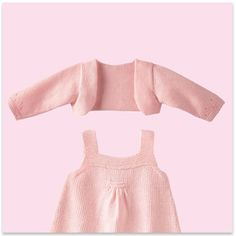 Modèle gratuit cardigan layette - link to many free patterns in French