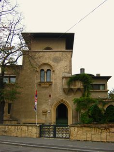 Casa cu influente maure, pe strada Eremia Grigorescu.