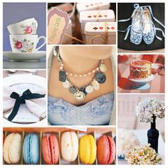 """We would be half-mad to dream up this """"Alice in Wonderland"""" debut moodboard"""