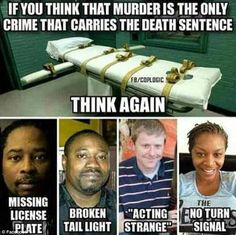 Gaines posted this image four days ago showing Walter Scott, Samuel DuBose and Sandra Bland with the caption: 'Smh could've been me, still can, but I'm aware and prepared'