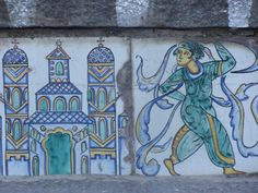 From stairway in Caltagirone