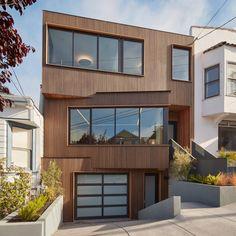 IwamotoScott organises San Francisco home around light-filled stairwell