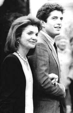 """""""Her love for Caroline and John was deep and unqualified. She reveled in their accomplishments, she hurt with their sorrows. At the mere mention of one of their names, Jackie's eyes would shine brighter and her smile would grow bigger."""" -Ted Kennedy ❤❤❤ ❤❤❤❤❤❤❤   http://en.wikipedia.org/wiki/Ted_Kennedy   http://en.wikipedia.org/wiki/Jacqueline_Kennedy_Onassis  http://en.wikipedia.org/wiki/John_F._Kennedy,_Jr."""