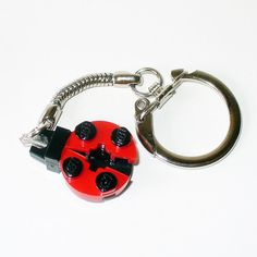 Mini Ladybug Key chain by FoldedFancy on Etsy, $7.00  https://www.etsy.com/listing/167690049/mini-ladybug-key-chain?ref=sr_gallery_38&ga_order=date_desc&ga_view_type=gallery&ga_ref=fp_recent_more&ga_page=50&ga_search_type=all