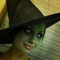 Gradient witch- Halloween makeup tutorials www.Youtube.com/empressmakeup