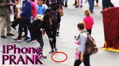 Mind Trick -  IPhone Experiment In Public (Social Experiment)