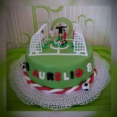 Fußballtorte ⚽  zum 8.Geburtstag!!