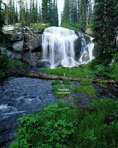 Chaffin Falls Bitterroot Valley Montana