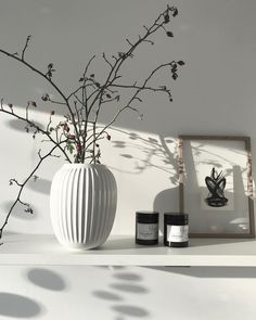 Die Puristische, Elegante Und Durch Und Durch Zeitlose Vase Hammershøi Hat  Eindeutig It Piece