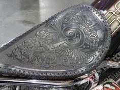 Indian Larry, motorcycle seat by digitalvillain, via Flickr