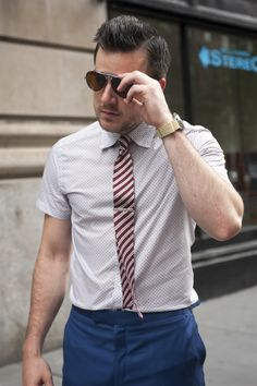 #AskTSBmen: Short Sleeved Shirts, with Ties?!
