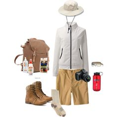 This is a great selection of essentials when you're venturing into the great outdoors.