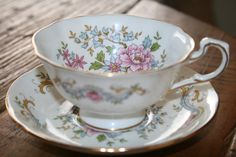 Royal Standard  Mandarin  lovely teacup with door HomiArticles