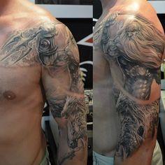 poseidon tattoo desenho - Pesquisa Google