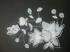Parchment Craft - flowers worth the fiddle  students work Dentelle de papier, Pergamano, Parchment craft