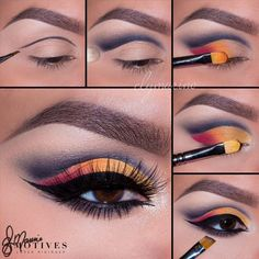 I am super excited to share this stunning, super gorgeous, fall look by, Motives Maven, @elymarino