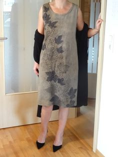 Ecoprint Kleid von Halja_H auf DaWanda.com