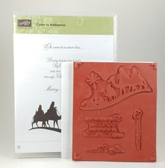 Stampin Up COME TO BETHLEHEM Stamp Set BRAND NEW Christmas Holidays  #StampinUp