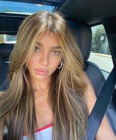 Brown Hair Balayage, Brown Blonde Hair, Brunette Hair, Hair Highlights, Hair Inspo, Hair Inspiration, Aesthetic Hair, Dye My Hair, Hair Looks