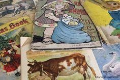 House of Hawthornes: Vintage Animal Printables - Free Vintage Prints to Use in Your Projects Vintage Crafts, Vintage Books, Vintage Decor, Rustic Farmhouse Decor, Vintage Farmhouse, Country Farmhouse, French Country, Animals Beautiful, Cute Animals