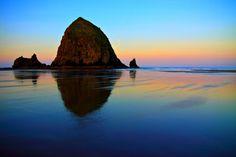 Sunrise, Cannon Beach, Oregon.
