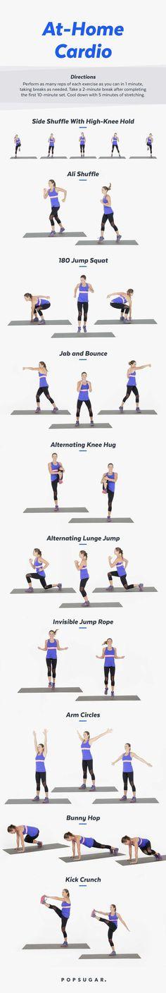 At-Home Cardio Workout | PopSugar