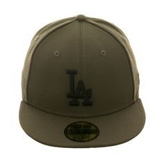 80a310b2651f3 Exclusive New Era 59Fifty Los Angeles Dodgers Hat - Olive